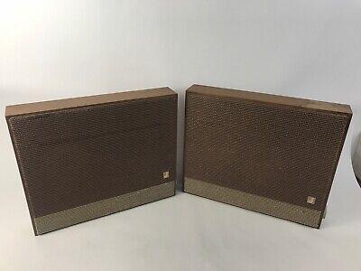 Vintage Jensen X-20 Slim Flat Panel 3 Speaker 2-way Speaker System