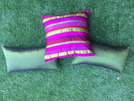 Satin cushions Mosman Mosman Area Preview