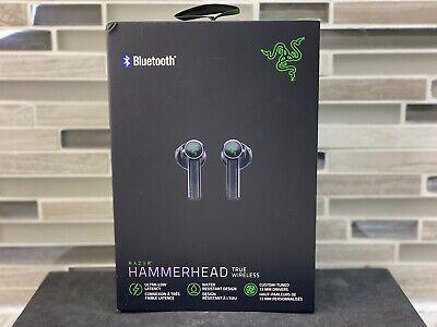 Razer Hammerhead True Wireless Earbuds Bluetooth Headset Earphones Black TWS