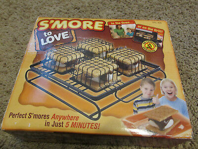 Smores Maker Indoor/Outdoor Kit STL-611 Camping S'more to Love - Smores Kit