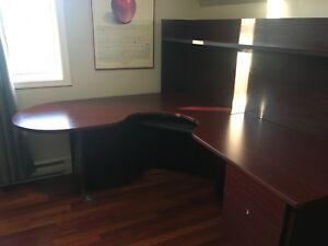Large L -shaped desk