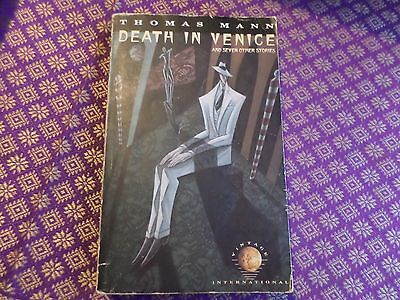 Death in Venice and Seven Other Stories Thomas Mann Paperback Vintage (Death In Venice And Seven Other Stories)