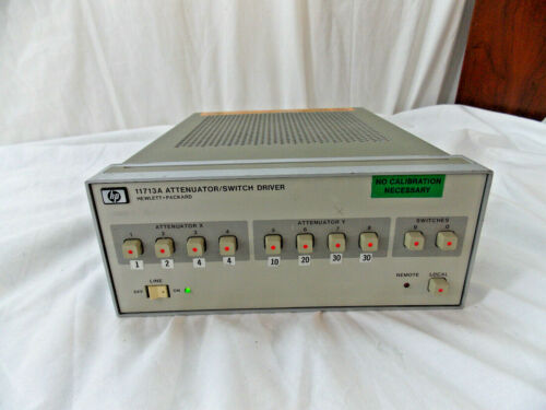 HP 11713A Attenuator / Switch Driver