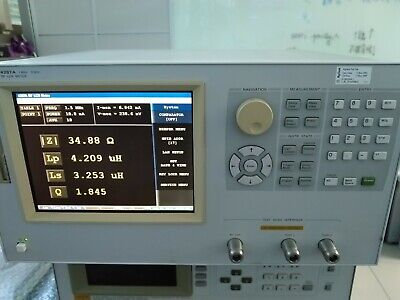 Agilent 4287a 1 Mhz To 3 Ghz Higher Accuracy Rf Lcr Meter