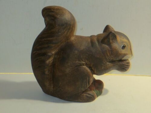 Walnut Ridge Collectibles Large Squirrel With Acorns, Artist Signed, Dated 1996