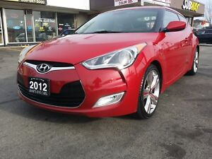 2012 HYUNDAI VELOSTER,MINT CONDITION,PANORAMIC ROOF,NAVIGATION!!