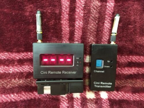 Cini Remote Transmitter and Receiver Modules with Battery Plate for Cinetape
