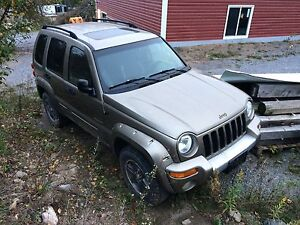 Handyman special- 2002 Jeep Liberty for sale!