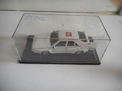 Mini Route Citroen BX 4 TC in White on 1:43 in Box
