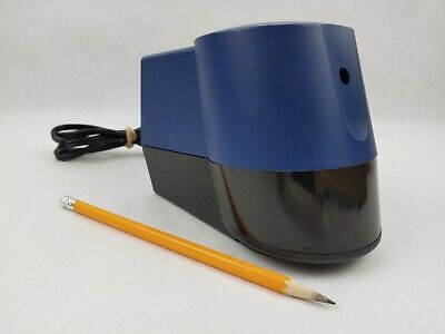 Boston Model 21 Blue Electric Pencil Sharpener Tested Hunt Mfg Co. Made In Usa
