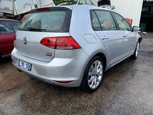 Wrecking Volkswagen Golf MK7 2013 in silver , parts for sell West Footscray Maribyrnong Area Preview
