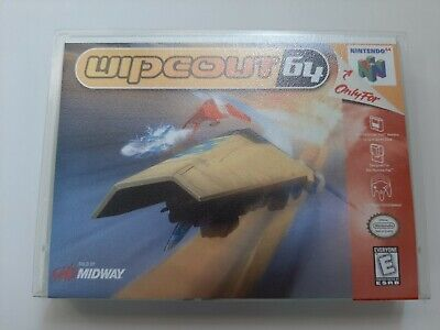 Wipeout 64 (Nintendo 64, 1998) Authentic Original Tested
