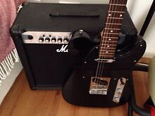 TELECASTER AND MARSHALL AMP PACKAGE. Harrington Park Camden Area Preview