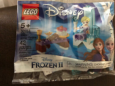Lego 30553 Disney Frozen 2 Elsa's Winter Throne New in Sealed Polybag 42 pcs