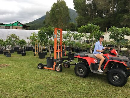 Hydraulic All-Terrain Forklift Uki Tweed Heads Area Preview