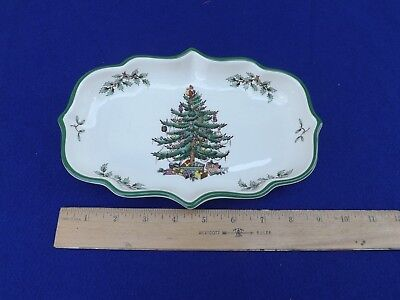 Spode Christmas Tree Ogee Candy Dish