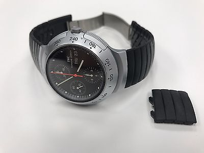 IWC PORSCHE DESIGN AUTOMATIC CHRONOGRAPH 02 MEN'S WATCH and 4 EXTRA LINKS R3701