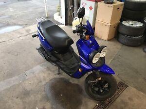 2005 Yamaha BWS YW50 70cc conversion