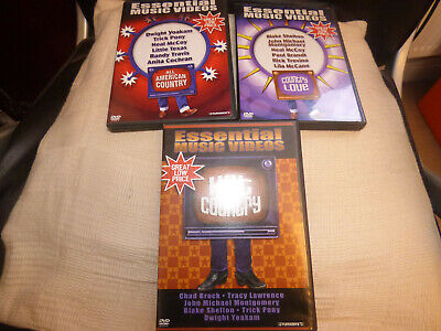 Essential Country music videos hot love all American collection dvd region 1