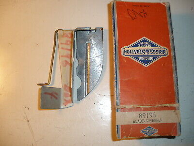 Briggs Stratton Gas Engine Governor Blade 89196 New Old Stock Vintage Model Ns