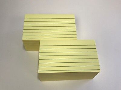 Post-it Notes 3 X 5 Inches Canary Yellow Lined 12-padspack 635