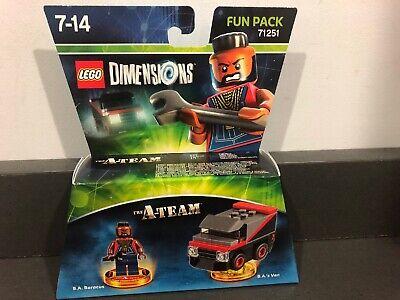 NEW SEALED Lego Dimensions The A-Team A Team B.A Barracus Fun Pack 71251