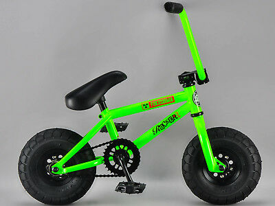 *GENUINE ROCKER* - FUKUSHIMA iROK+ BMX RKR Mini BMX Bike GLOW IN THE DARK