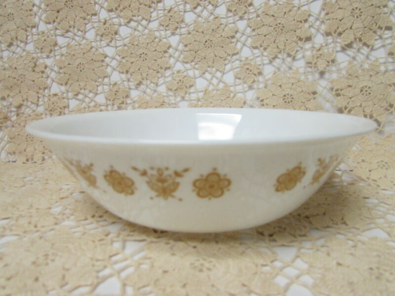 1 CORELLE Butterfly Gold Round Vegetable Serving Bowl