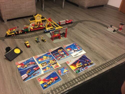Lego Zug Riesenset 4563, 4554, 4555, 4539, 4543, 4546, 4552