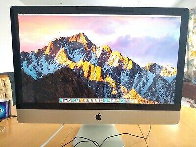 """Apple MC813B/A A1312(Mid-2011) iMac 27"""" Core i5-2500S 4GB RAM 1TB HDD... segunda mano  Embacar hacia Mexico"""