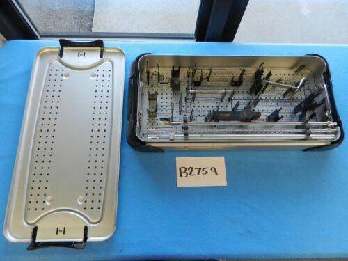 Smith & Nephew Surgical Orthopedic Imhs Cp Instrument Set W/ Case