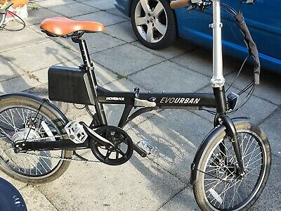 Folding electric bike used