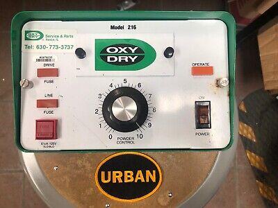 Oxy Dry 216 Sprayer Control