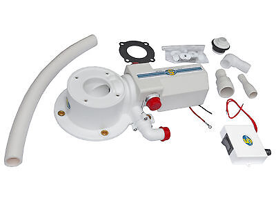 TMC Electric Head Conversion Kit 12V W/Macerator Pump for Marine Toilet
