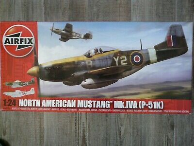 Maquette avion 1/24 AIRFIX North American Mustang Mk.IV P-51K Ref 14003A