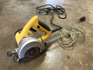 Power fist 4 1/2 inch wet tile saw