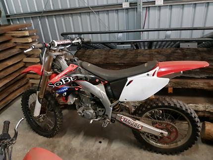 Crf450 swap for boat