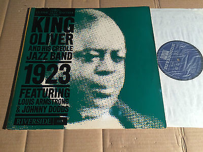 KING OLIVER AND HIS CREOLE JAZZ BAND - 1923 - LP - RIVERSIDE RM 8805 - MONO