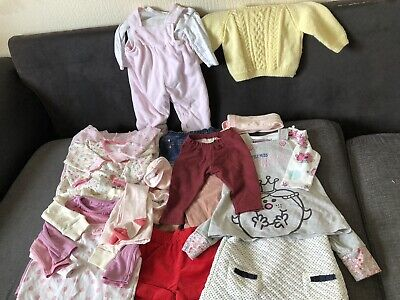 Baby Girl Clothes 3-6 months Mixed Bundle 20+ items