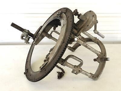 Mj Crose 200a 10-14 Pipe Beveler Beveling Cutting Machine