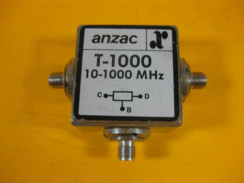 Anzac Power Divider 10-1000MHz -- T-1000 -- New