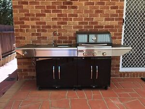 Gasmate 3 Burner Specialist & marble top Sink Module Nicholls Gungahlin Area Preview