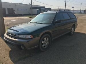 1996 Subaru Legacy outback awd winter tires!