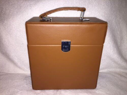 "Crosley 7"" Vinyl Record Carrier Case - Tan"
