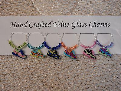 "Подвески Wine Glass ""SNEAKERS""or"" RUNNER"" SET"