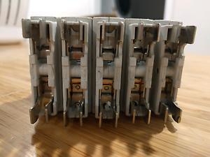 Five plug-in circuit breakers Glebe Inner Sydney Preview
