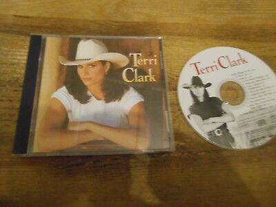 (CD Country Terri Clark - Same / Untitled Album (10 Song) POLYGRAM MERCURY jc)