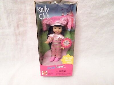 Barbie Kelly club Jester Jenny doll pink outfit clothes in package box Halloween