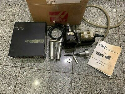Haas 5c 7 Pin Rotary Indexer 4th Axis W Servo Box And Accessories Haas Box
