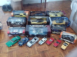 die cast metal collectable cars